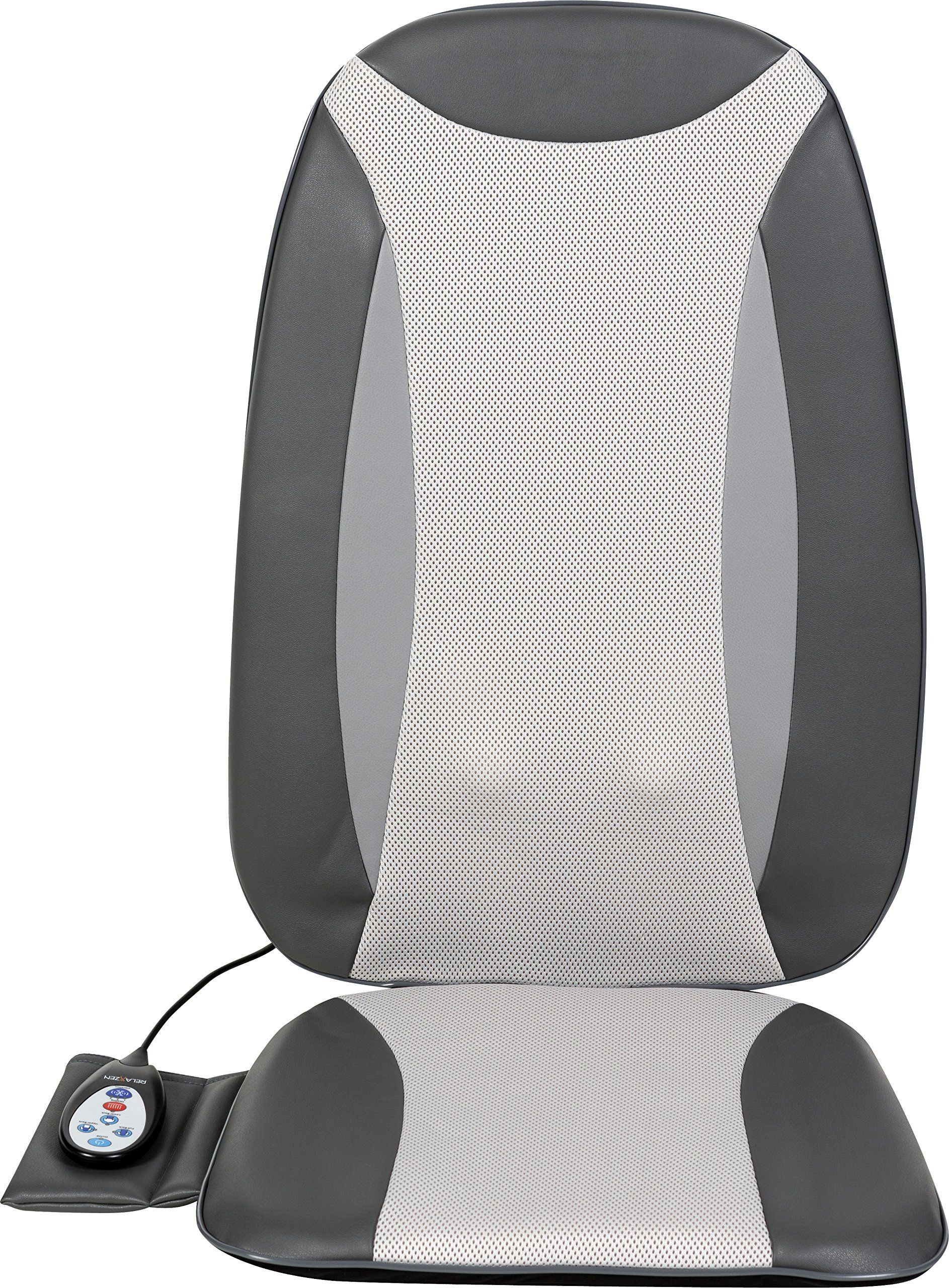 Relaxzen Full Back Shiatsu Mage Cushion With Heat Gray Details Can Be Found By Clicking On The Image This Is An Affiliate Link And I Receive A