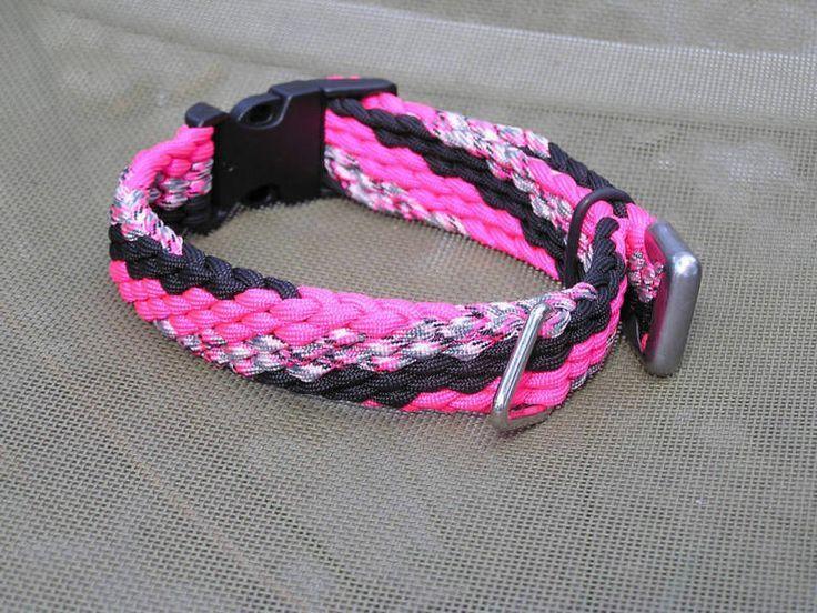 550 Cord Picmia Diy dog collar, Paracord braids