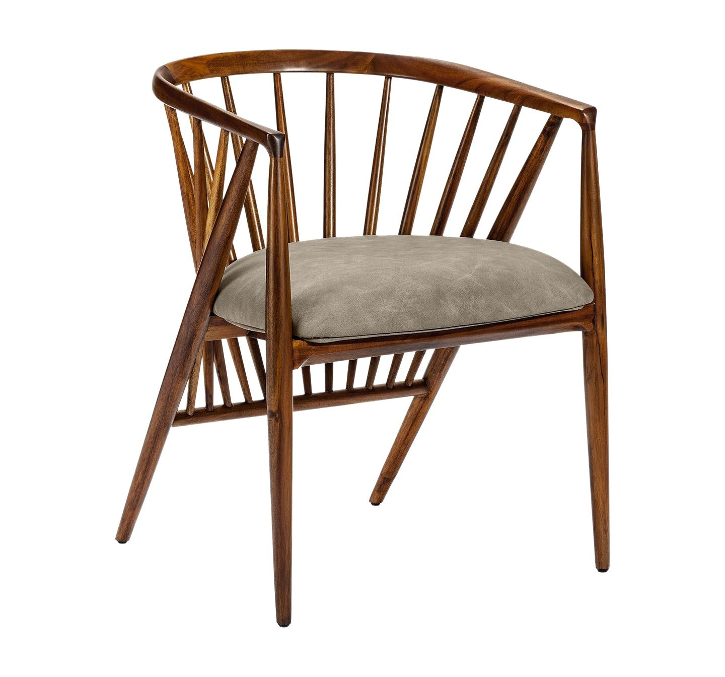 Lilou Dining Chair Taupe By Interlude Home Dining Chairs