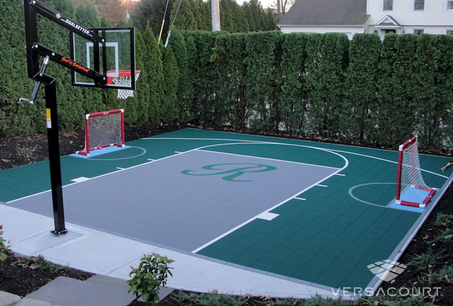 Top 27 Sport Court Backyard Design Ideas | Bauen für Kinder ZC74