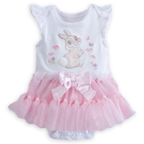 9f920d4cc5f03 Miss Bunny Bodysuit with Tutu Vetement Bébé Fille