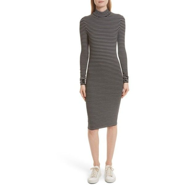 Women's Atm Anthony Thomas Melillo Stripe Rib Jersey Dress (4.335 ...