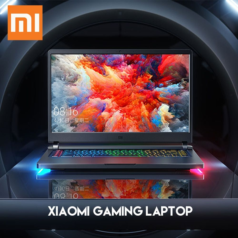 Original Xiaomi Mi Gaming Laptop Windows 10 Intel Core I7 8750h 16gb Ram 128gb Ssd 1tb Hdd Hdmi Notebook Type C Blu Laptop Windows Gaming Laptops Intel Core