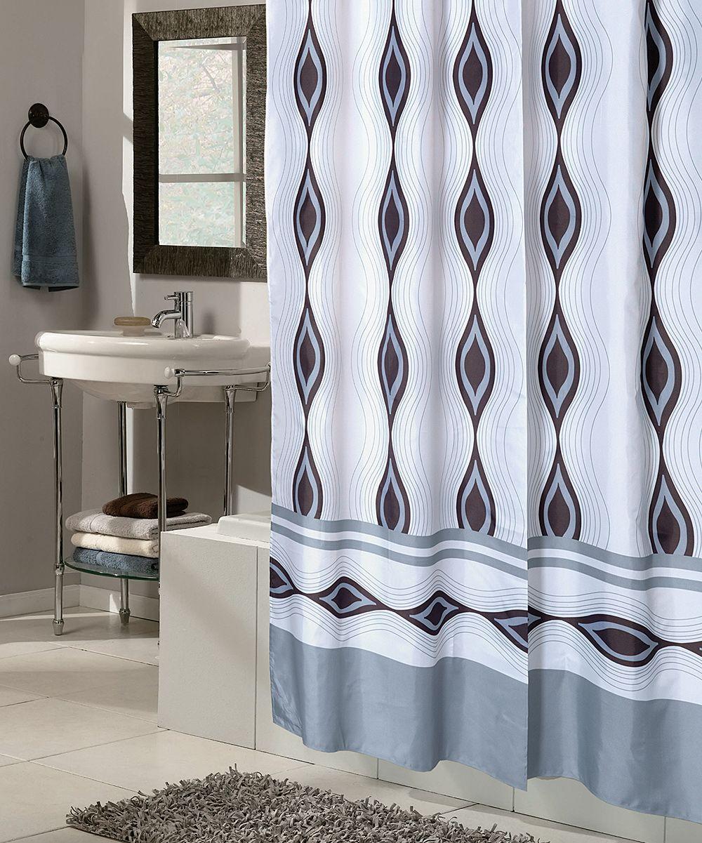 Harlequin Snap On Grommet Shower Curtain