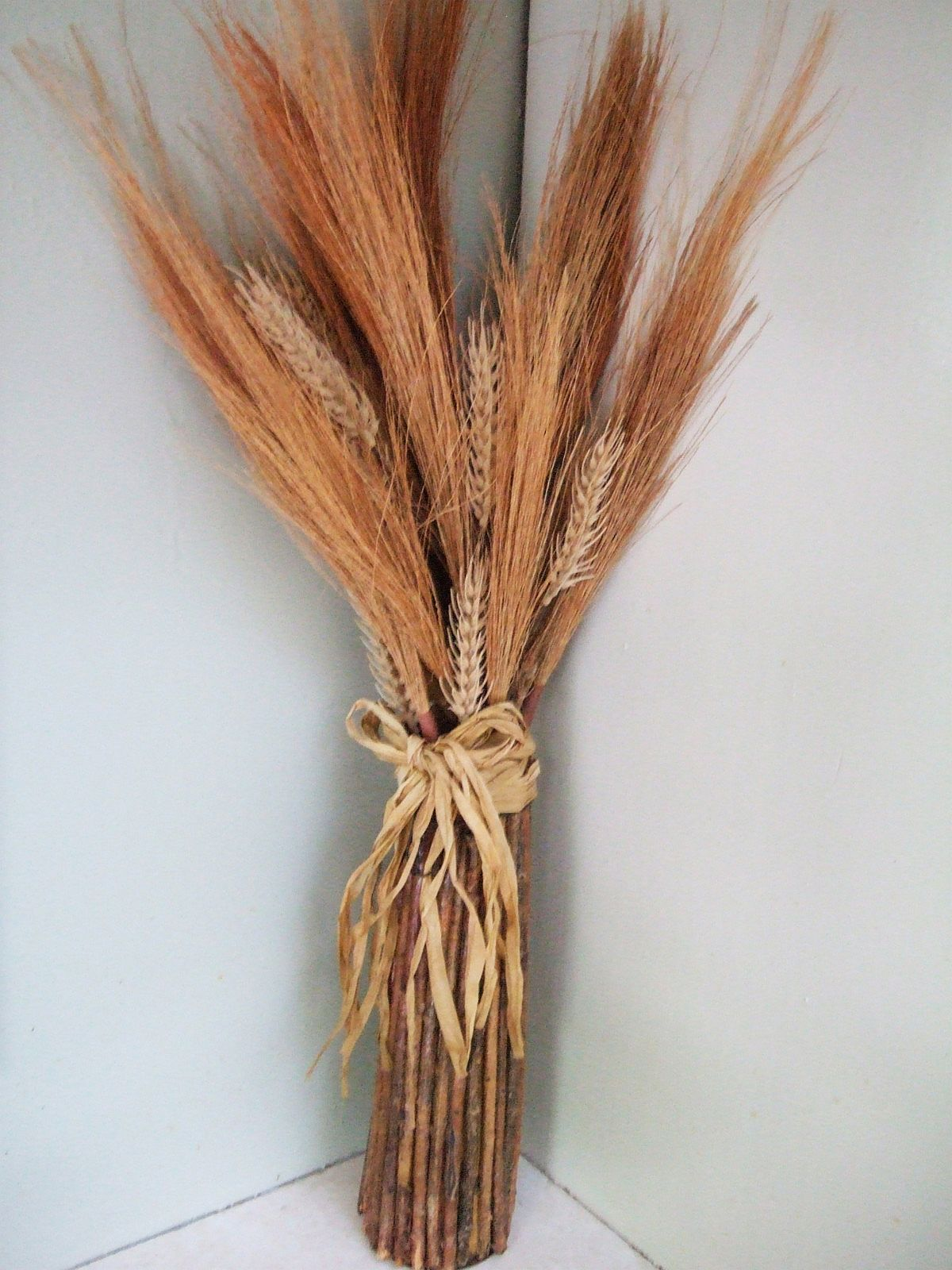 Dried Wheat Grass Fall Autumn Thanksgiving Floral