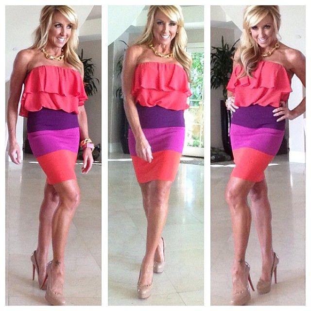 purple red dress fashion #chalenejohnson #chalenesfashion