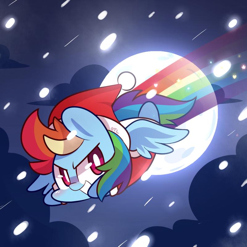 Rainbow Santa by ILifeloser on deviantART