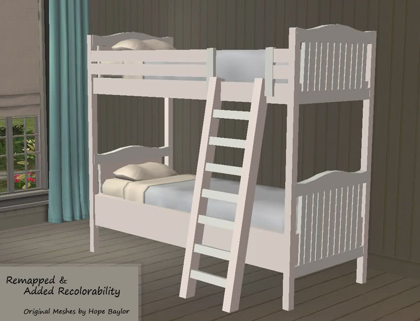 Fixed Nantucket Bunk Bed By Hope Baylor Bedrooms