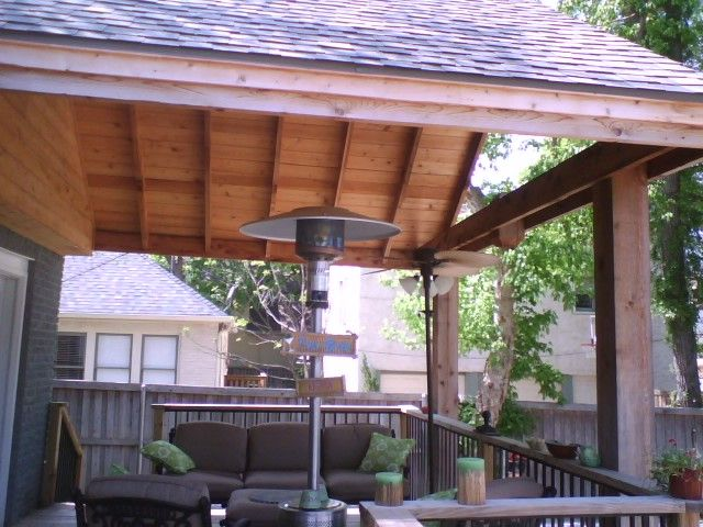 Exceptional Porch · Covered Rustic Decks | Patio Covers » ...