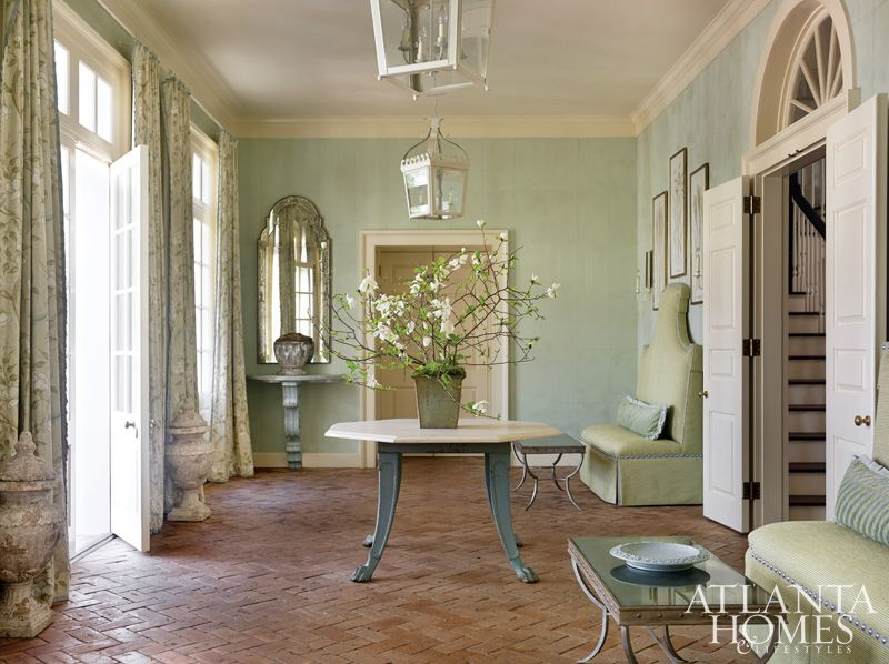 Foyer Designed By Liz Williams And Photographed Emily Followill For Atlanta Homes Lifestyles