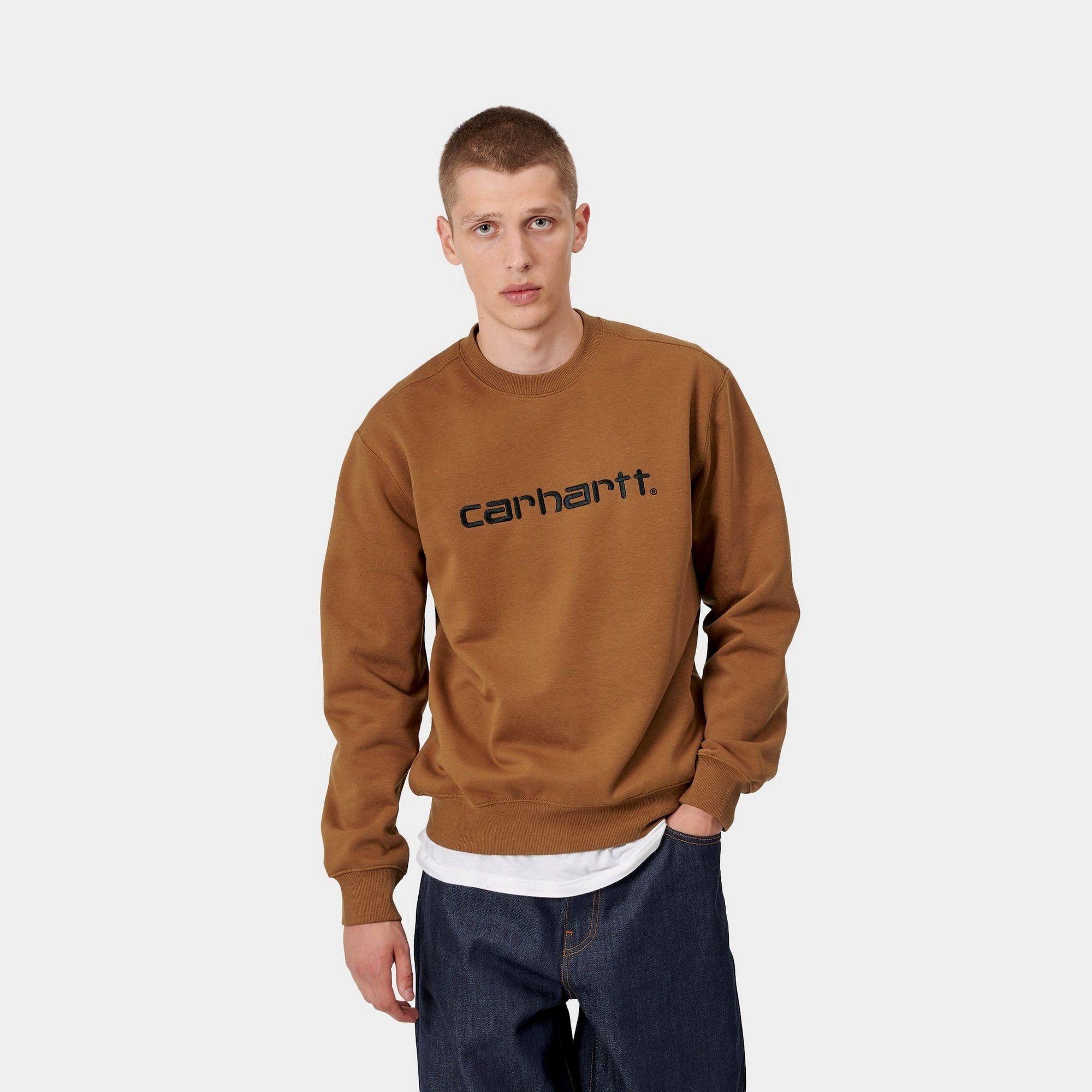 Carhartt Wip Carhartt Sweatshirt Hamilton Brown Carhartt Wip Usa Carhartt Sweatshirts Sweatshirts Carhartt [ 2000 x 2000 Pixel ]