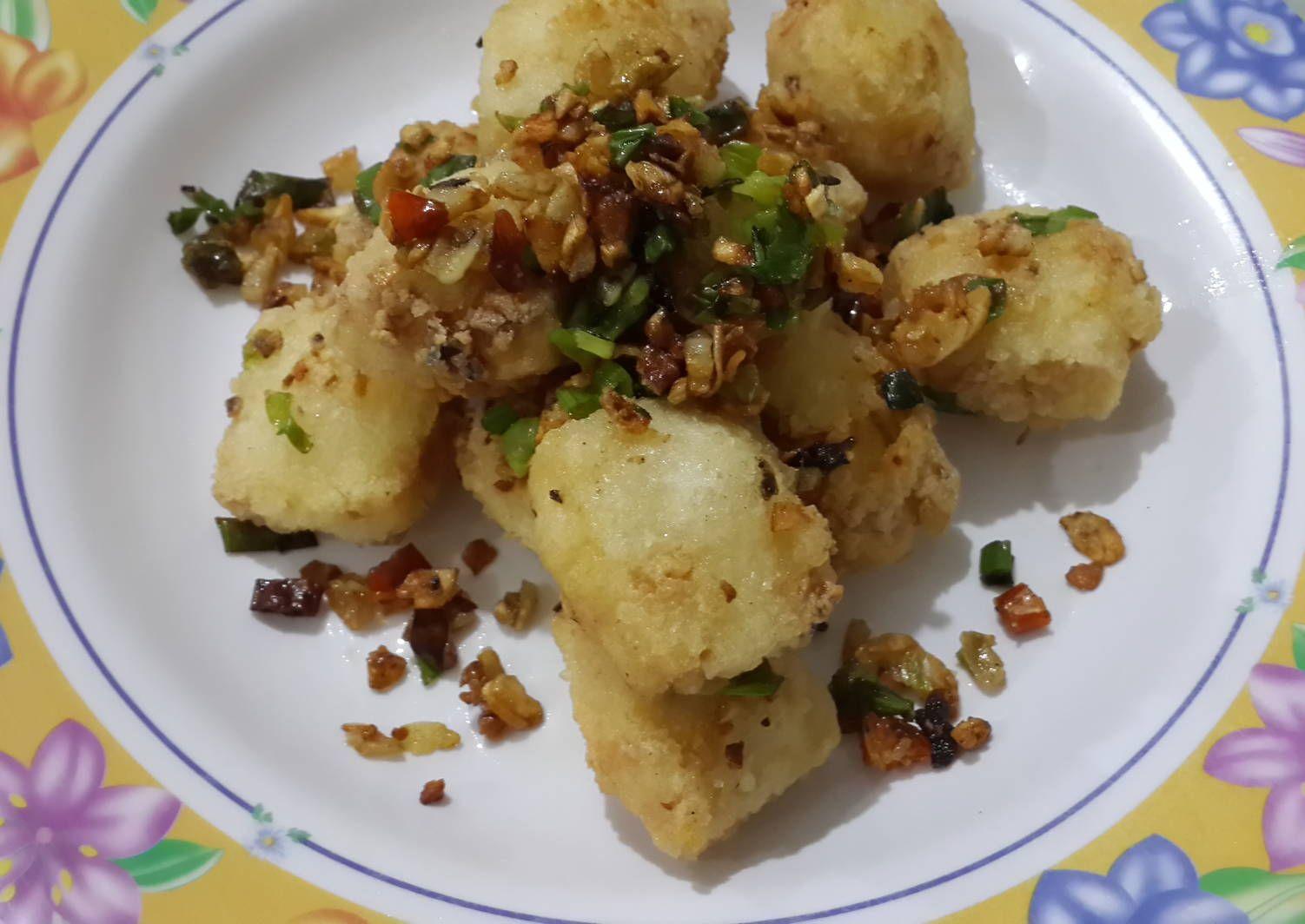 Resep Tahu Lada Garam Oleh Riska Erlinda Resep Resep Tahu Resep Resep Makanan