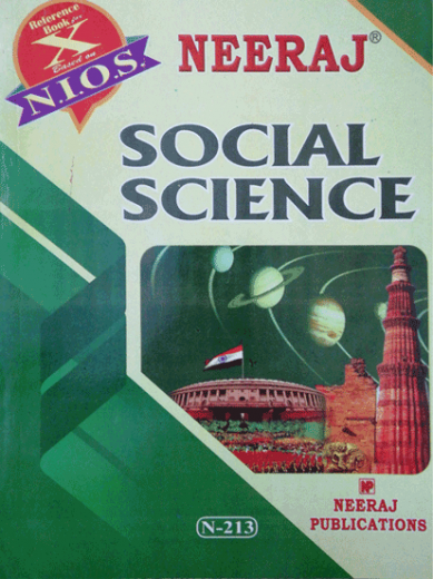 English Medium Nios 213 Indian Social Science Guide Social Science Science Books Science