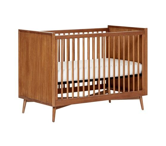 West Elm X Pbk Mid Century Convertible Crib Mini Crib