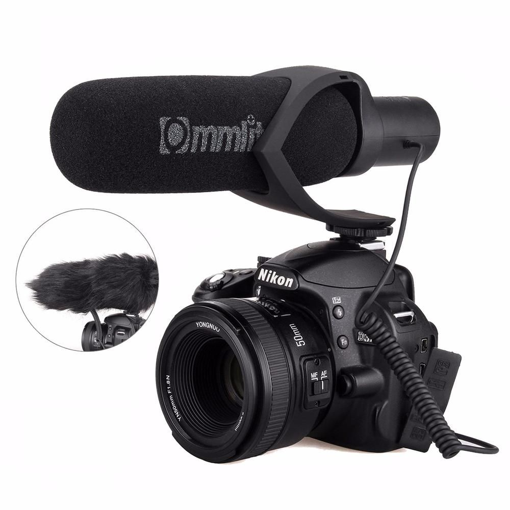 Comica Electrit Super Cardioid Directional Condenser Hypercardioid Video Microphone For Video Interview Camera Camcorder Nikon Dslr Canon Camera Digital Camera