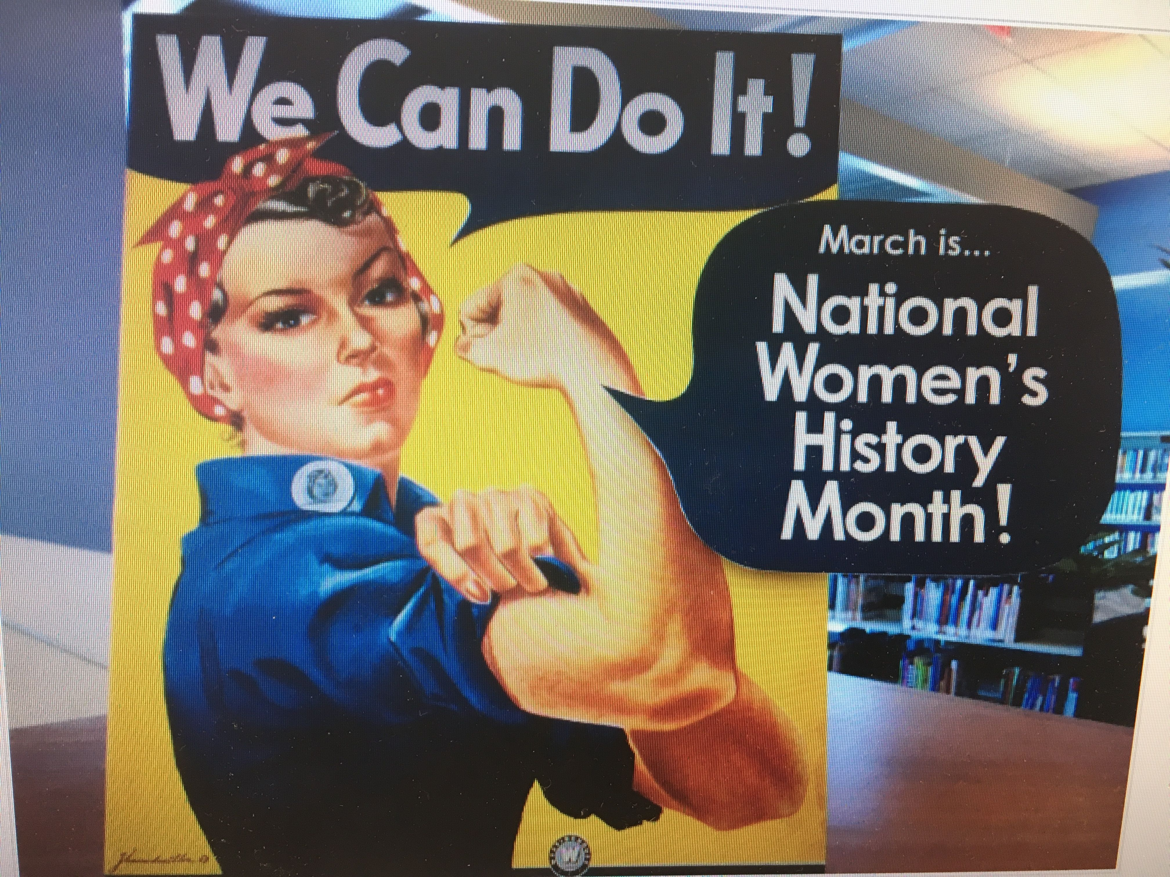National womens history month by michael miller on high