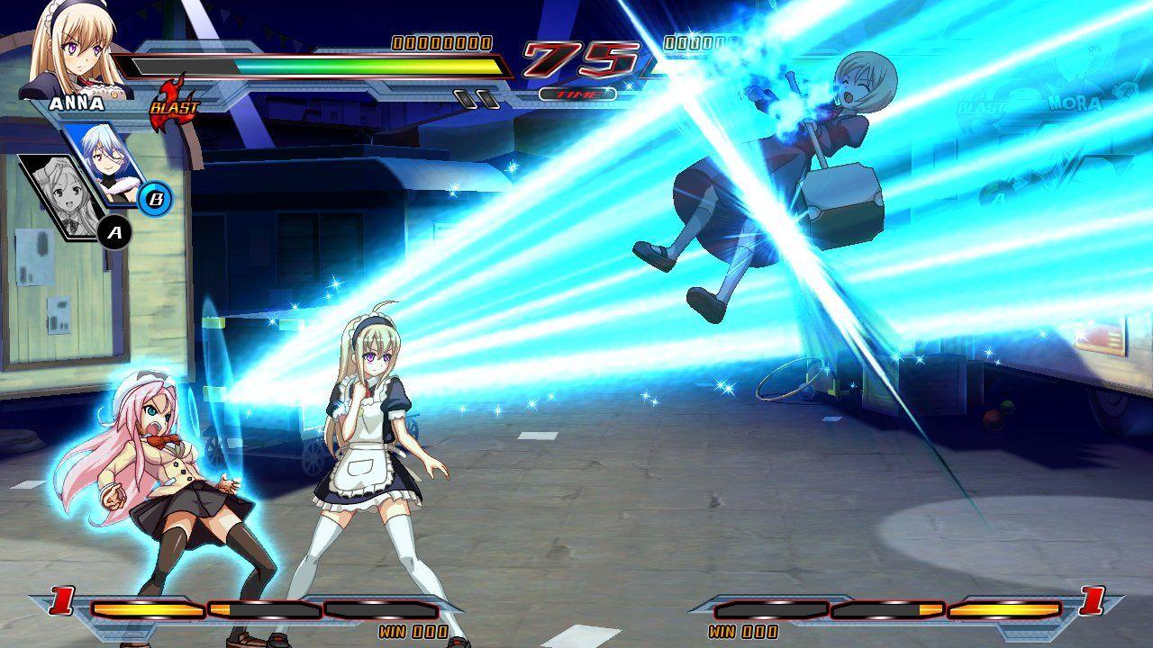 Nitroplus Blasterz Heroines Infinite Duel PlayStation 4