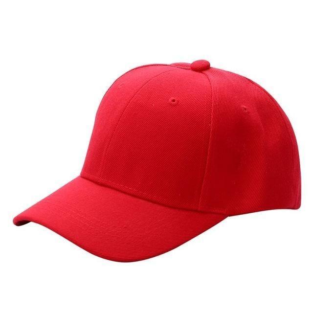 31070cf3651 Men Women Plain Baseball Cap Unisex Curved Visor Hat Hip-Hop Adjustable  Peaked Hat Visor