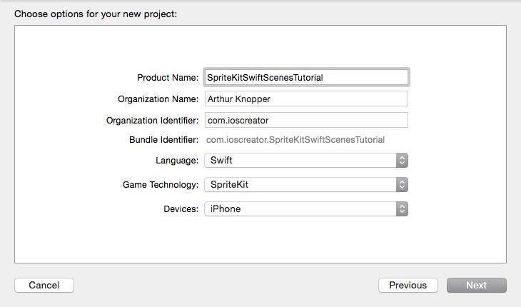 SpriteKit Scenes iOS Tutorial Swift game, Ios, App