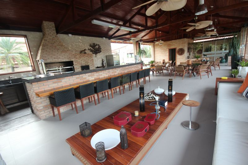Area De Lazer Para Haras Fazendas Com Piscina Decks Espaco