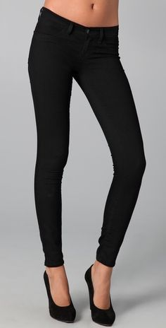black legging jeans