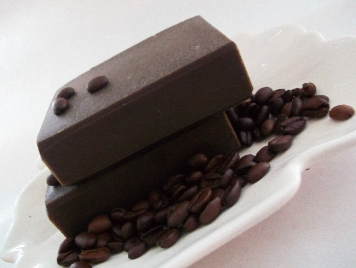 BLACK COFFEE Soap with Shea Butter Coconut oil coffee