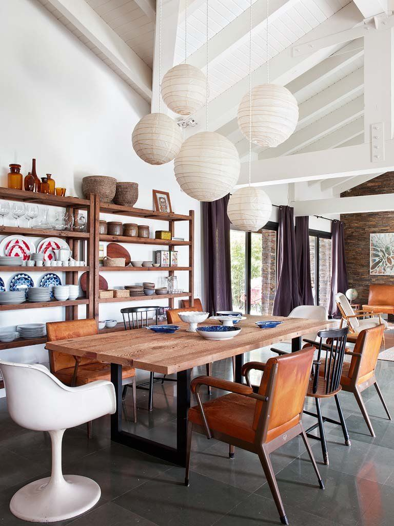 Modern, Vintage And Industrial Accents Share A Holiday Home ...