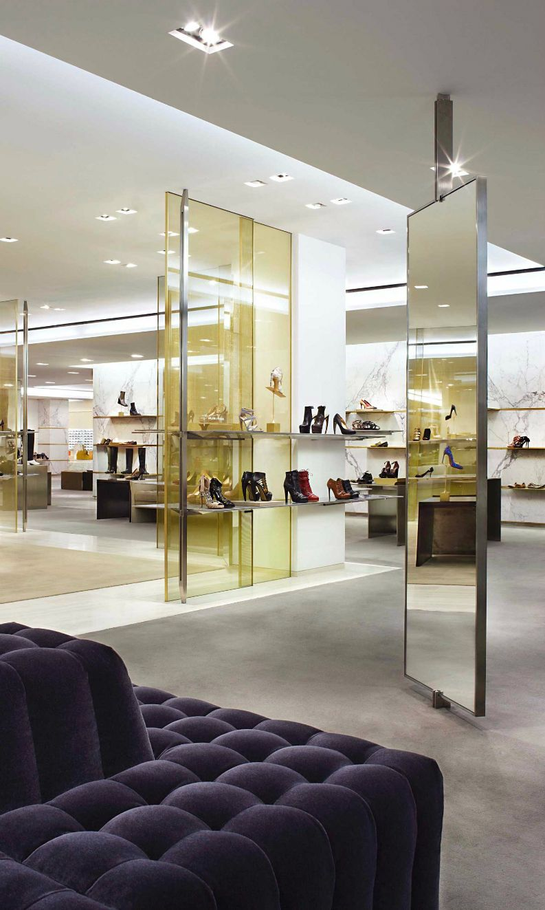 Best Retail Design Projects By Yabu Pushelberg Shop Interiors