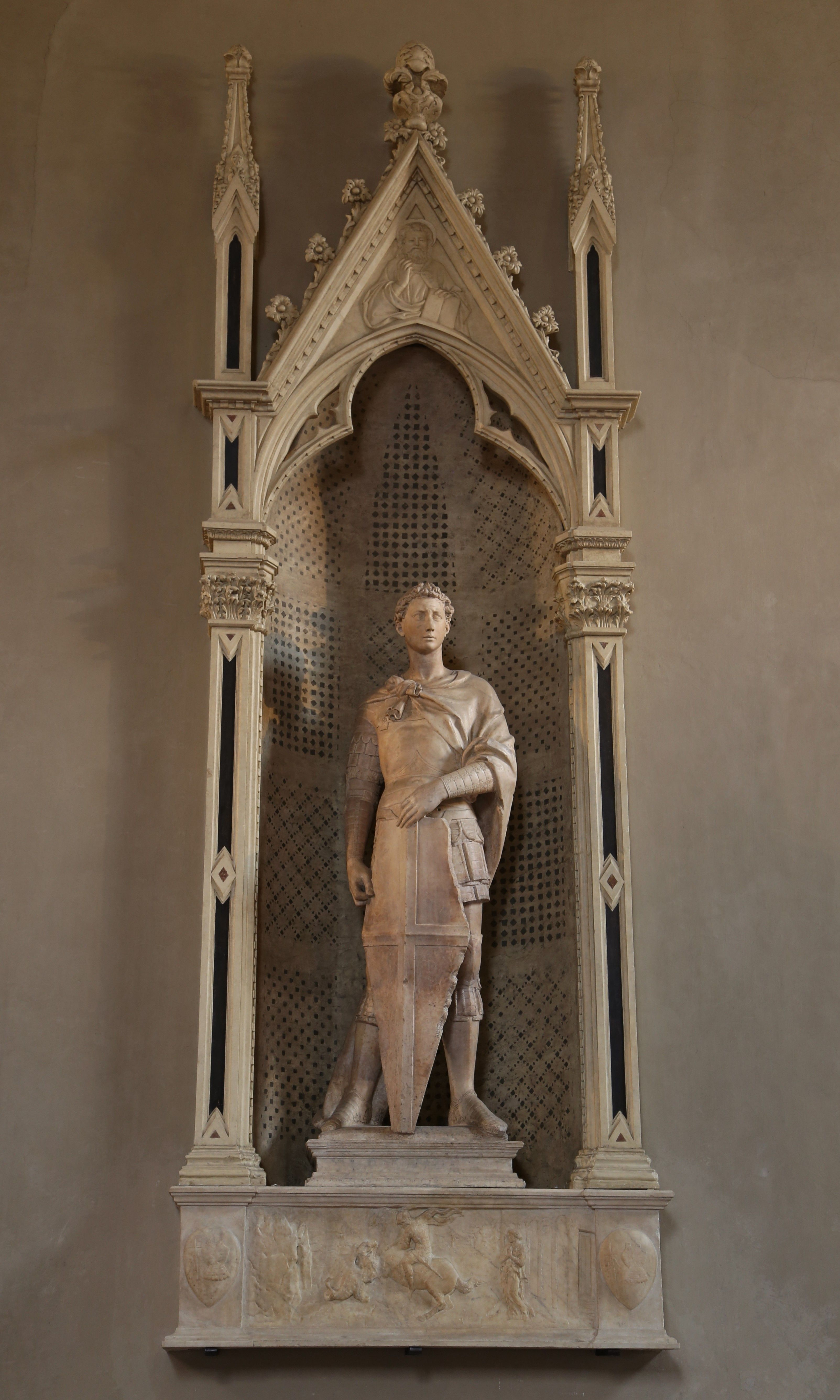 St George at Orsanmichele | Donatellos statue of St
