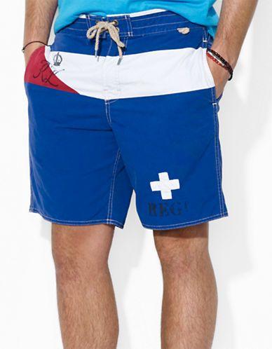 992cb99f31 POLO RALPH LAUREN Sanibel Striped Swim Trunk | Men's Fashion | Swim ...
