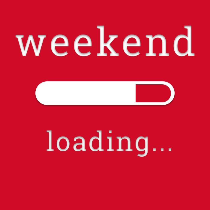 Have a nice and long weekend! ;)