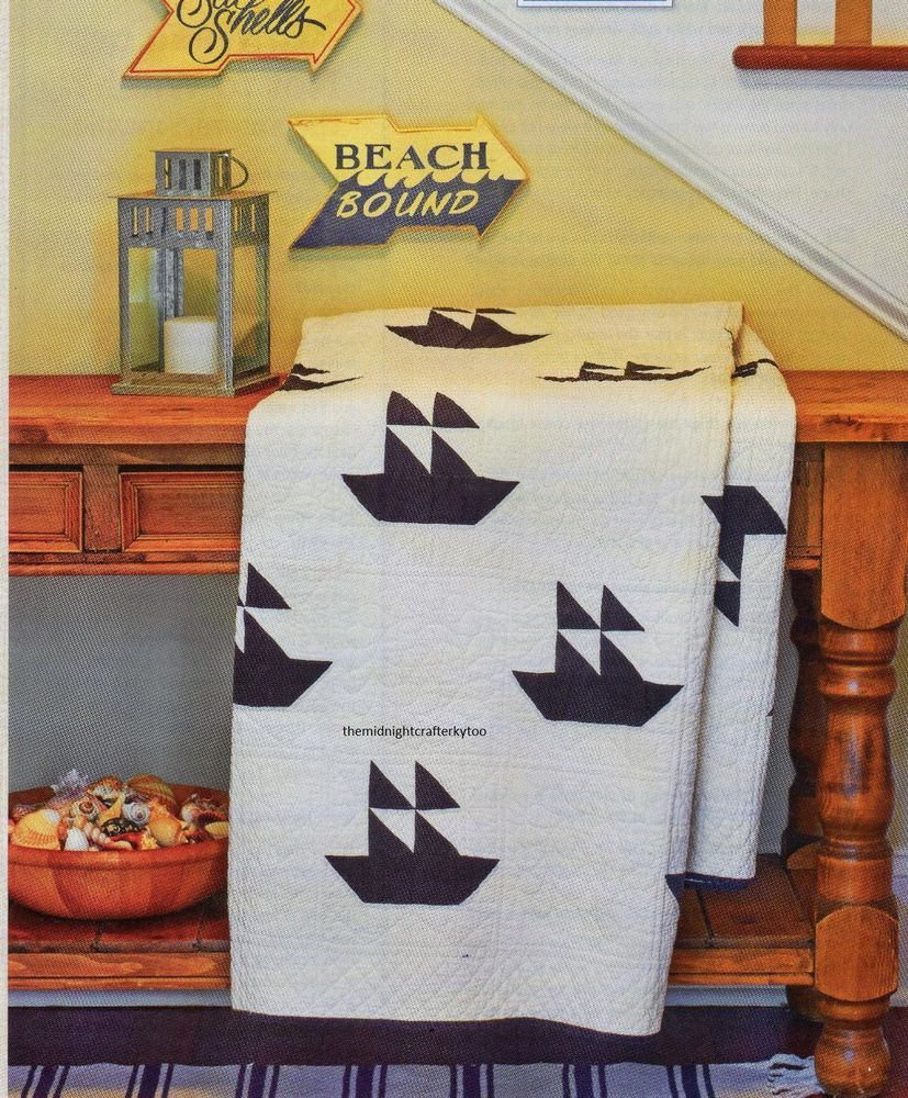 Naturally Nautical Quilt Pattern Pieced UD | Patterns