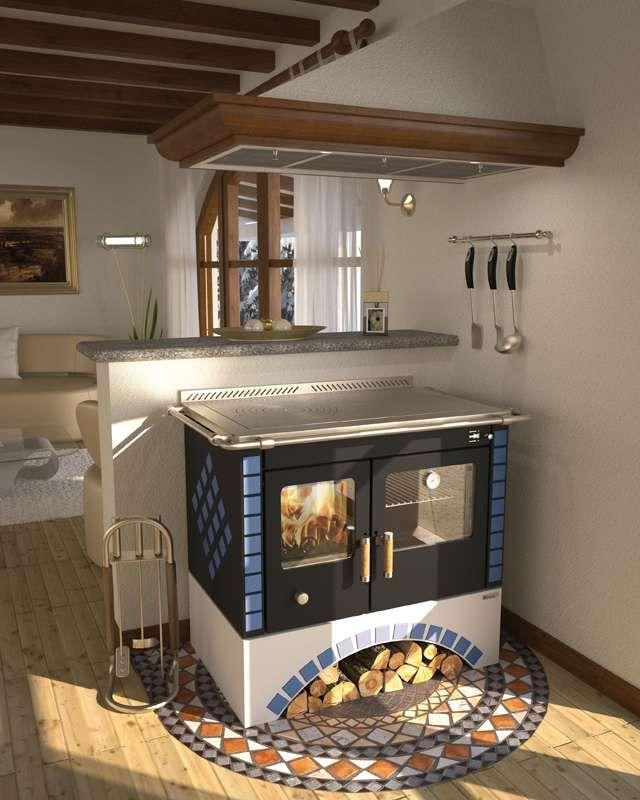 Cucine Economiche A Legna J Corradi: Modello retr di stufa ...