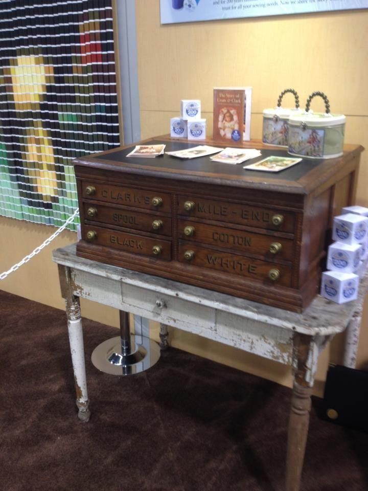 Coats & Clark Thread Cabinet - Coats & Clark Thread Cabinet For The Home Pinterest Clarks