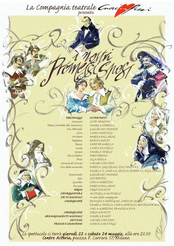 I Promessi Sposi Anime Art