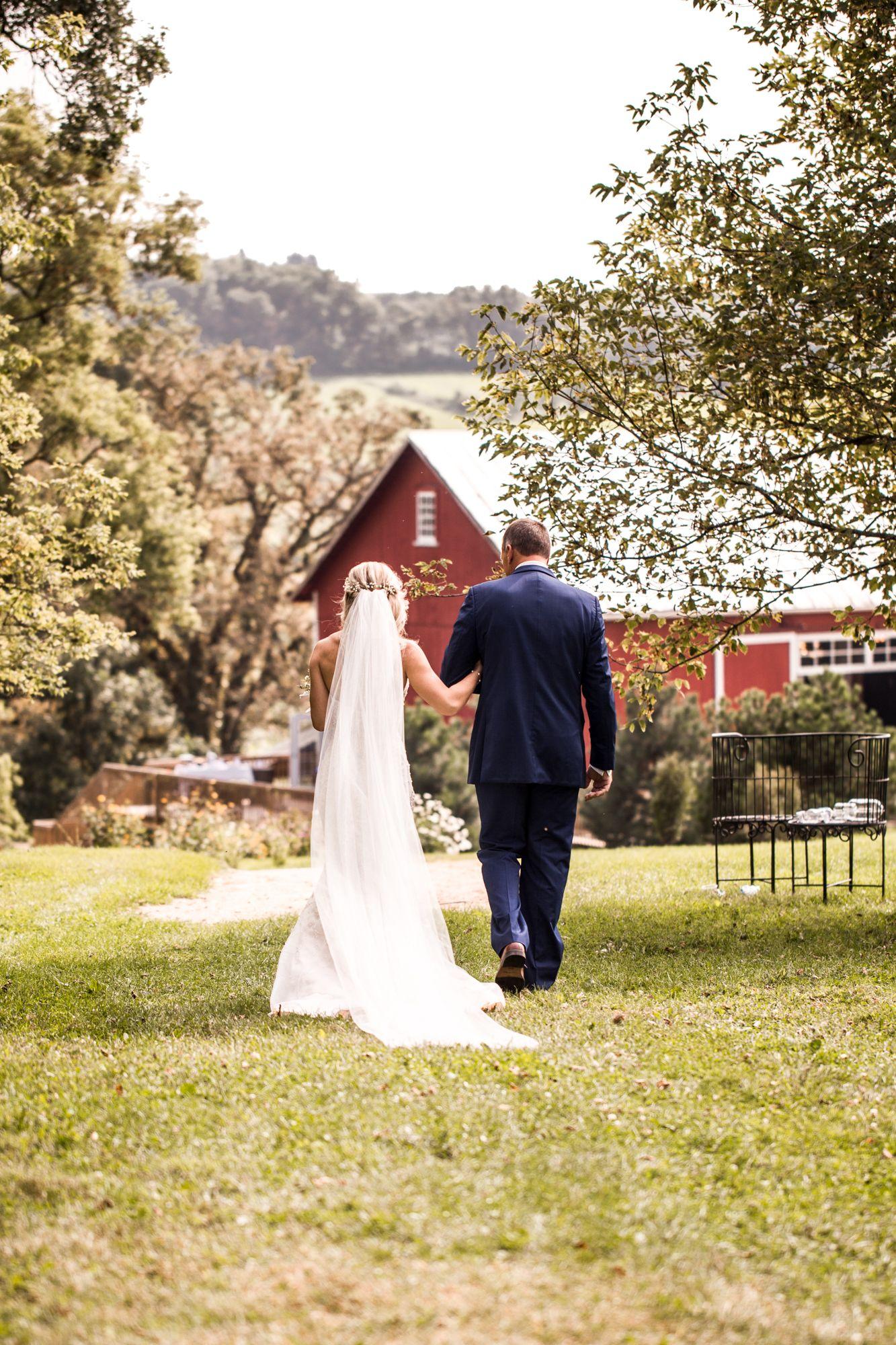 Jared + Bailey | Barn wedding venue, Garden venue, Wedding ...