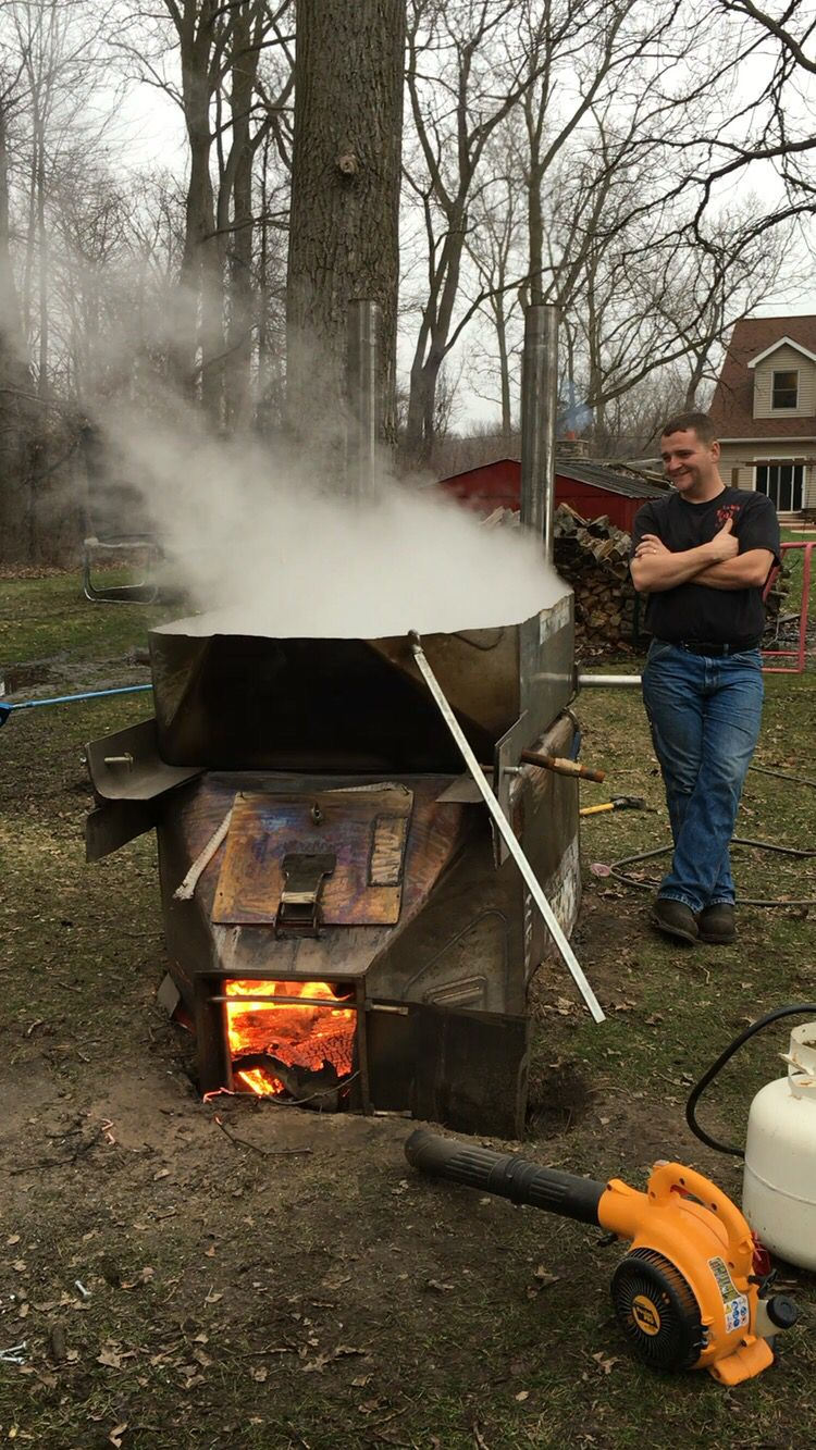 Maple syrup boiler Maple syrup evaporator Maple syrup ...
