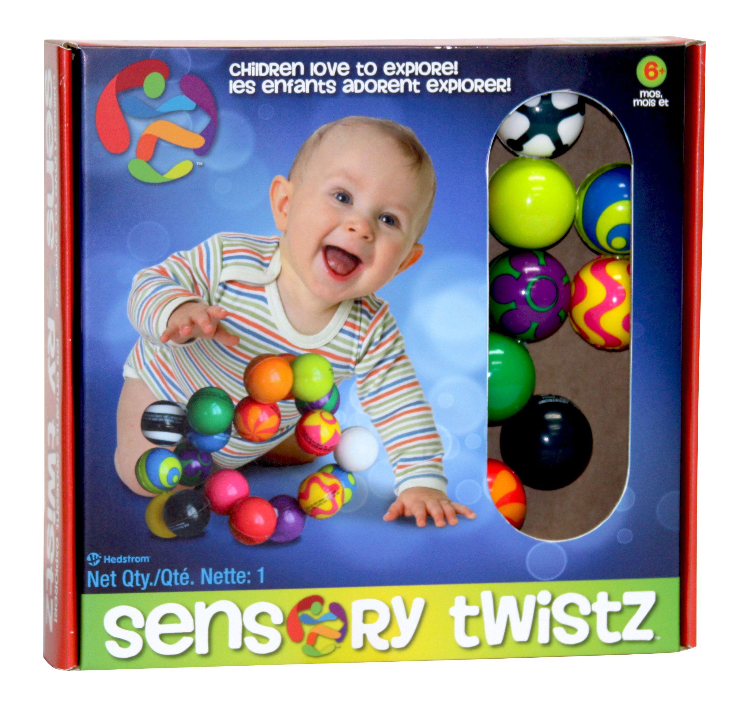 Twist twirl and squish Hedstrom s Sensory Twistz Create fun
