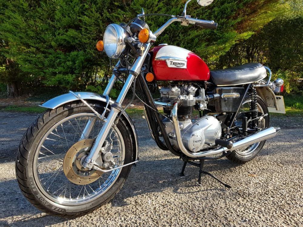 Ebay 1975 Triumph Bonneville T140v Stunning Rare Classic Only 4800