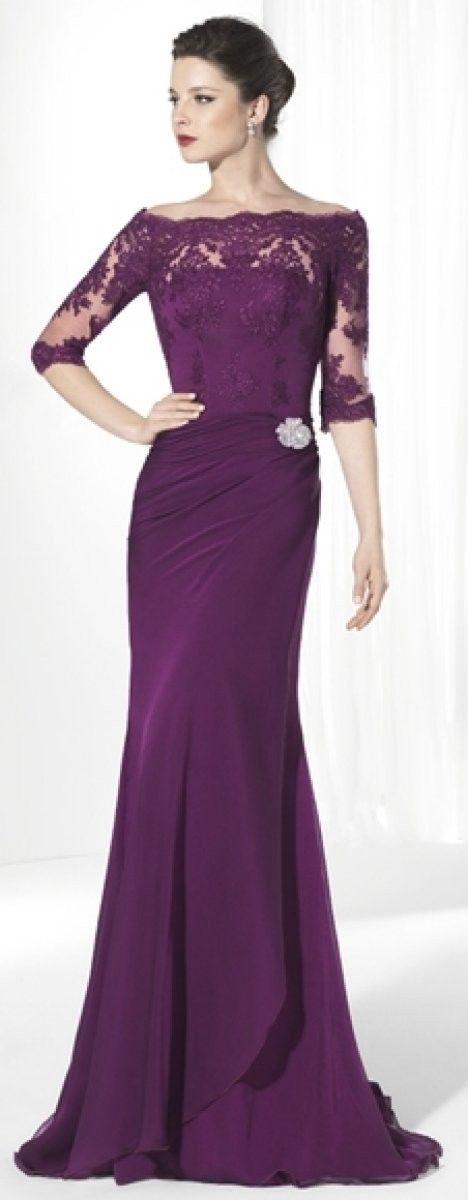 Invitadas con vestidos de encaje, ¡muy elegantes! | Vestidos de ...
