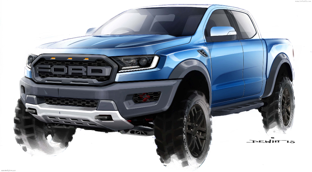 2019 Ford Ranger Raptor Hq Pictures Specs Information And