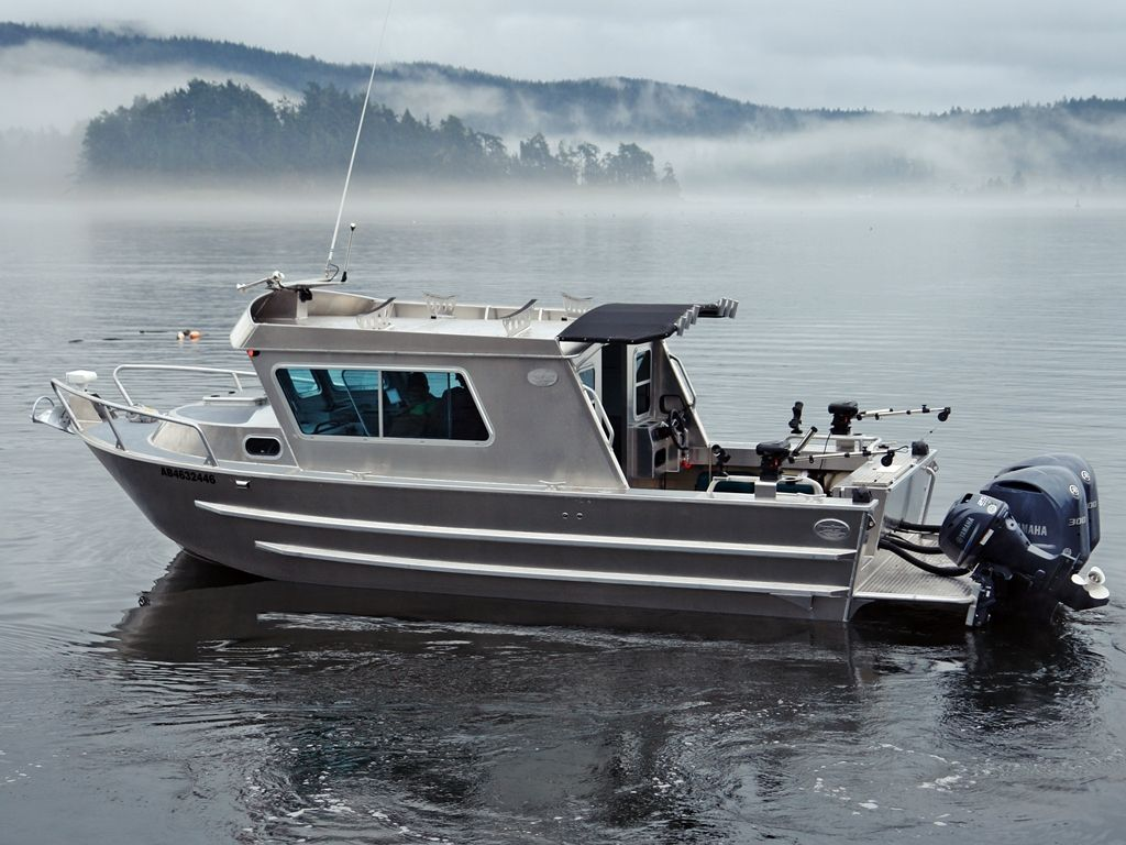Browse All Our Aluminum Boats Silver Streak Boats Ltd Cuddy