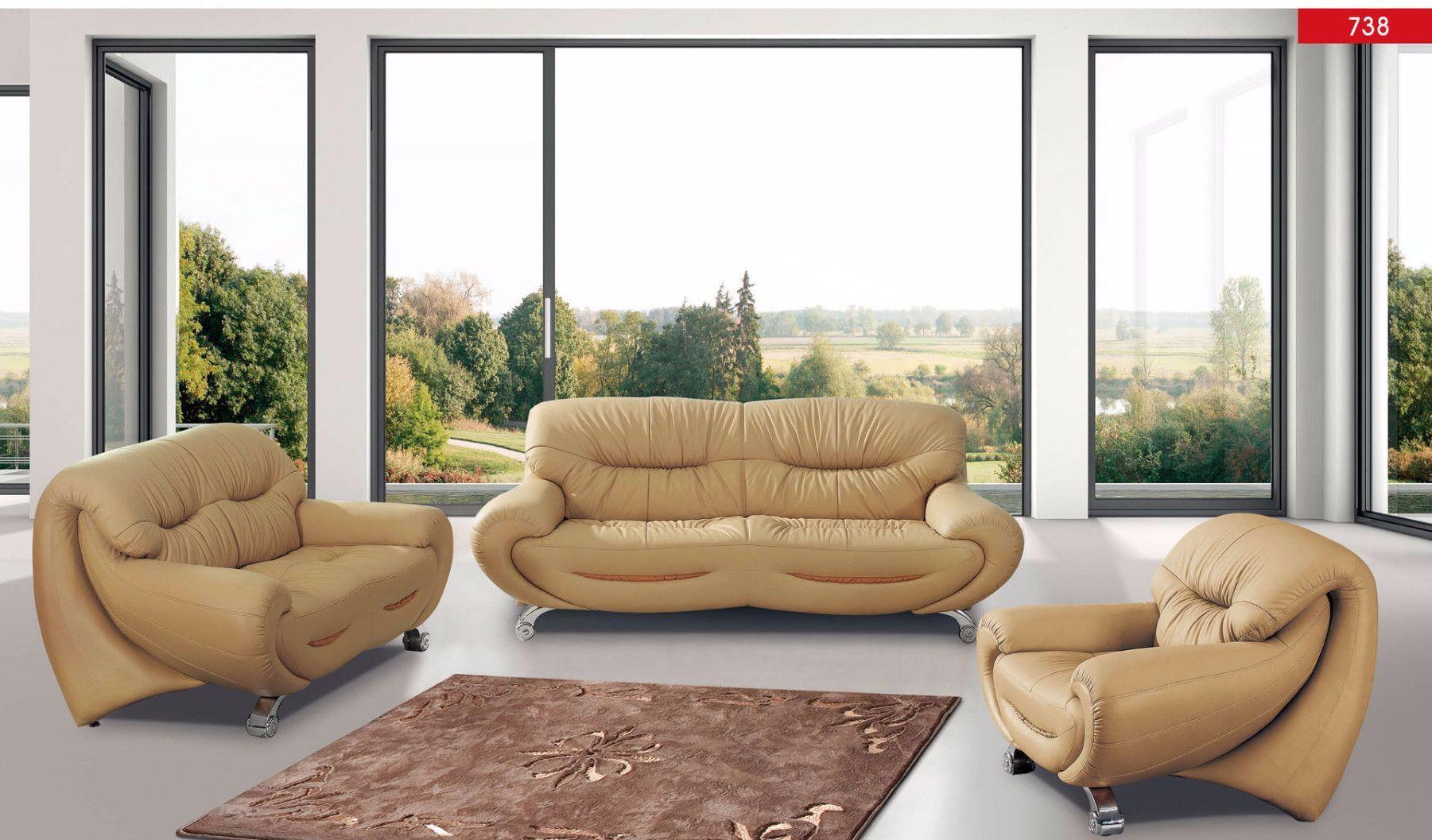 Luca Home Sofa, Loveseat, Chair Set
