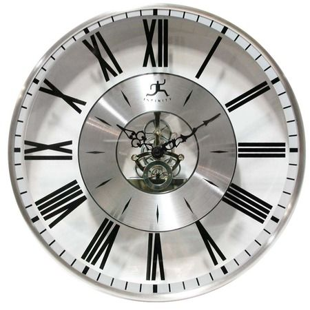 I Pinned This Paragon Wall Clock From The Marvelous Man Cave Event At Joss And Main Wall Clock Large Contemporary Wall Clock Contemporary Wall Clock