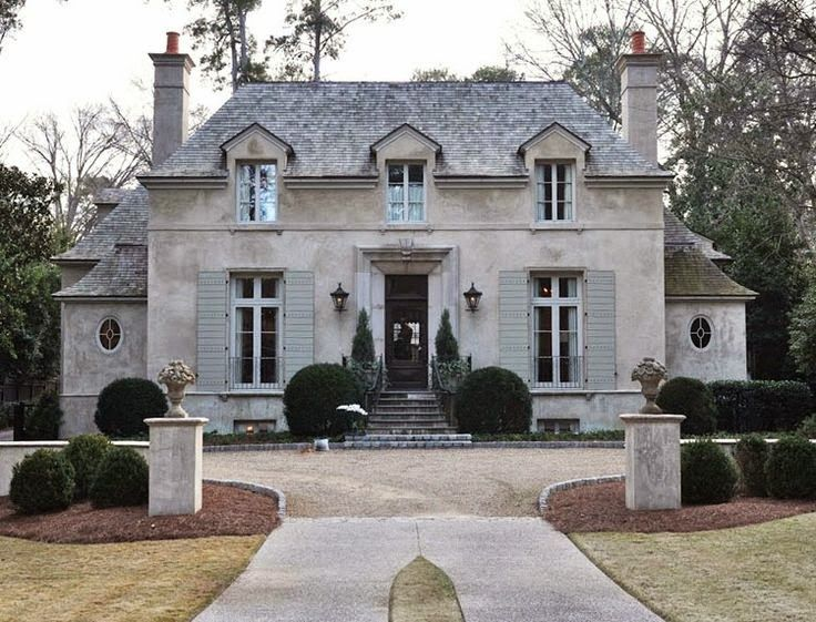 Architectural Inspiration Guest Parking In 2020 French Country Exterior French Country House Country Style Interiors