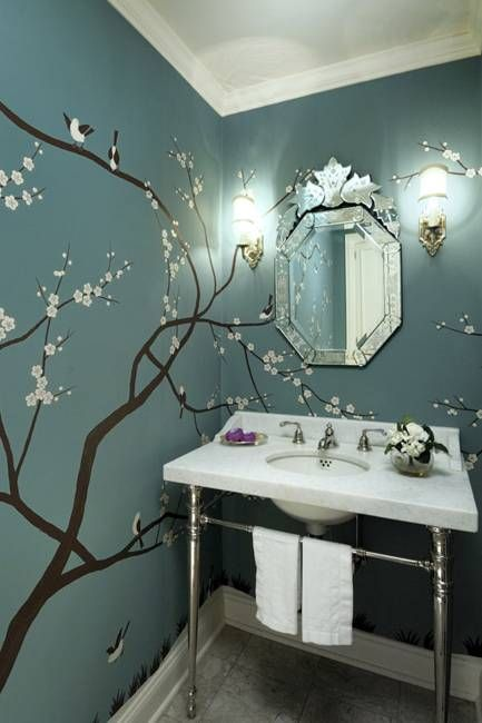 20 Wall Murals Changing Modern Interior Design With Spectacular Wall Painting Ideas Asian Home Decor Asian Homes Home Decor