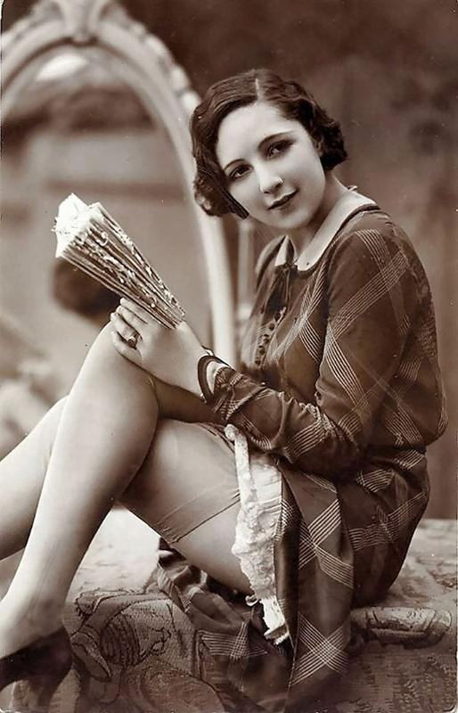 Cartoline vintage dal 1900-1910 Bellezza delle donne catturate