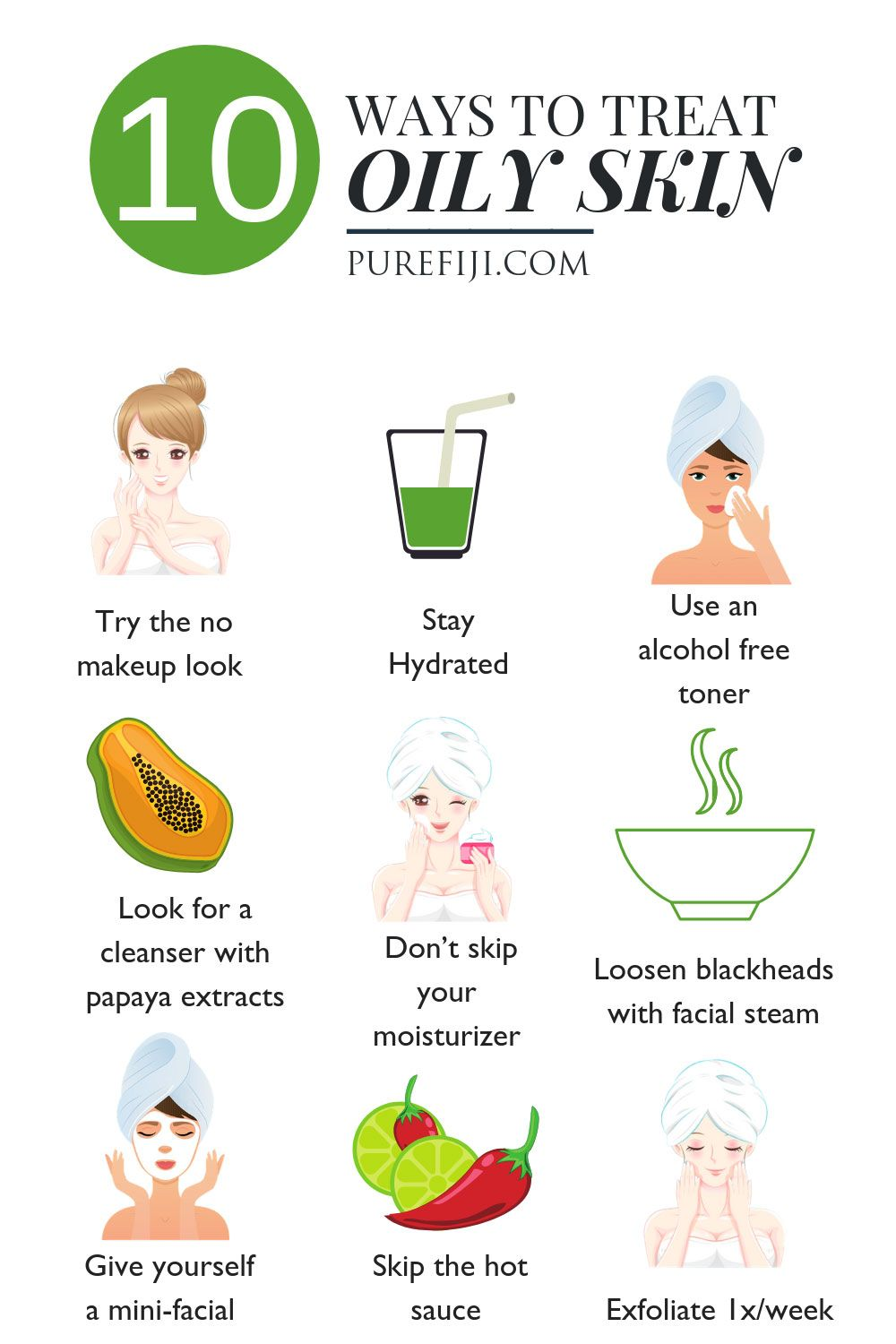 Skin Care Routine and Natural Remedies for Oily Sk