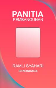 Download Id Card Panitia Word : download, panitia, Panitia, Identity, Design,, Template,, Design