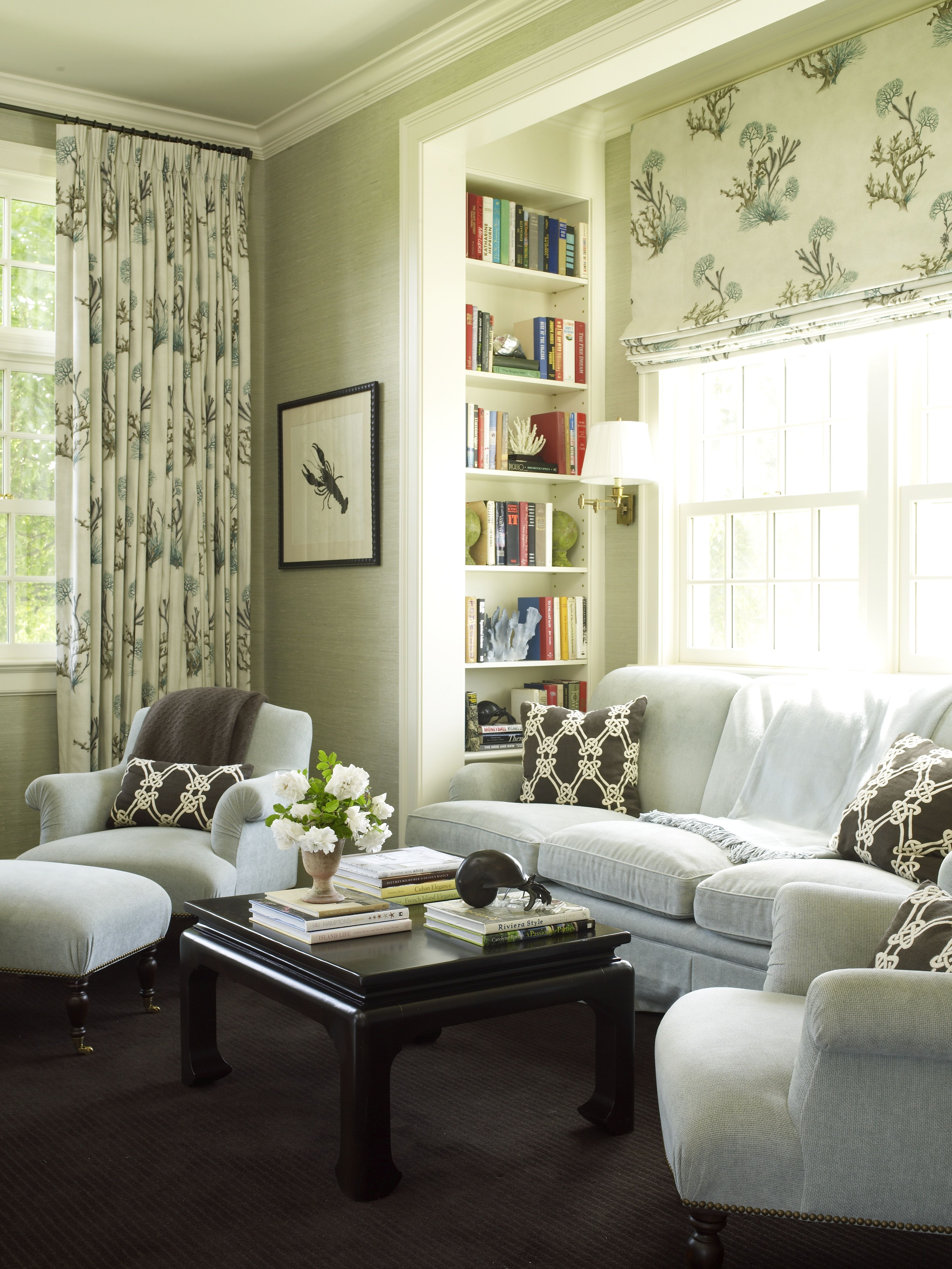 redecorating bedroom%0A Country Houses  traditional  family room  new york  Austin Patterson  Disston Architects